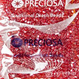 Рубка PRECIOSA 10/0 50грамм цвет: малиновый прозрачный 141053