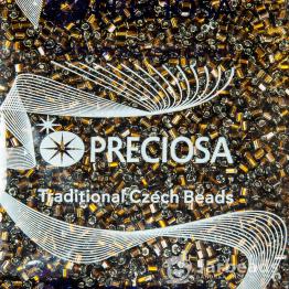 Рубка PRECIOSA 10/0 50грамм цвет: коричневый огонек 17140