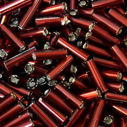 Стеклярус PRECIOSA (50гр) цвет красный огонек арт.97120
