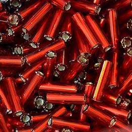 Стеклярус PRECIOSA (50гр) цвет красный огонек арт.97070