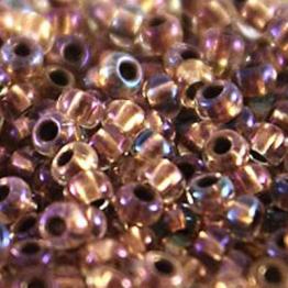 Бисер PRECIOSA 6/0 (50гр) цвет: прозрачный с золотой серединкой арт.68505
