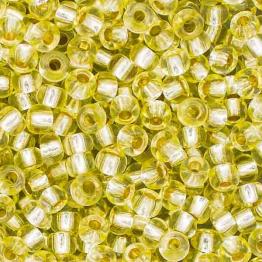 Бисер PRECIOSA 10/0 (20гр) 1сорт цвет: салатовый огонек арт.78253