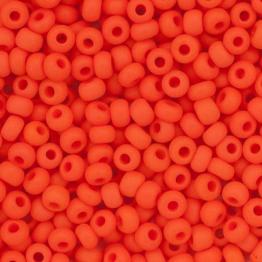 Бисер PRECIOSA 10/0 (20гр) 1сорт оранжевый керамика матовый арт.93140m