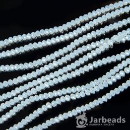 Кристаллы 4мм лунный камень 50штук