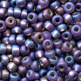 Бисер PRECIOSA 10/0 (15гр) 2сорт цвет: сиреневый матовый огонек арт.27069m