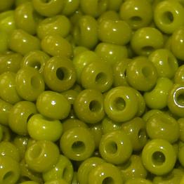 Бисер PRECIOSA 10/0 (15гр) 2сорт цвет: зеленый керамика арт.53430