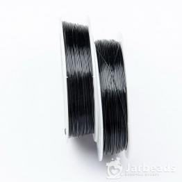Проволока d0,4мм, длина намотки 50м (черный)