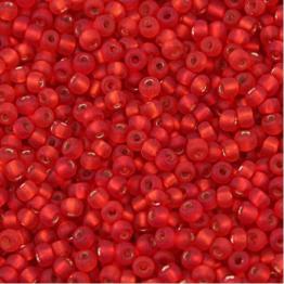 Бисер PRECIOSA 10/0 (50гр) 1сорт цвет: красный матовый огонек арт.97070m