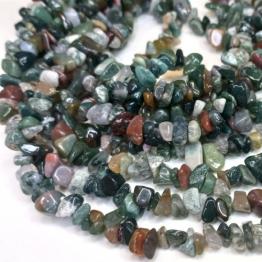 Каменная крошка Индийский агат зеленый отрезок 84см