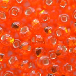 Бисер PRECIOSA 6/0 (50гр) цвет: оранжевый огонек арт.97030