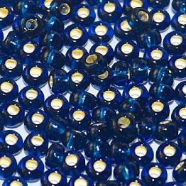Бисер PRECIOSA 6/0 (50гр) цвет: синий огонек арт.67100