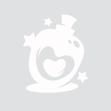 Коннектор Символ бесконечности 23*8мм (бронза)